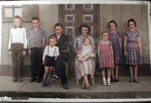 Família de João Ghisi e Hilda Michels Ghisi